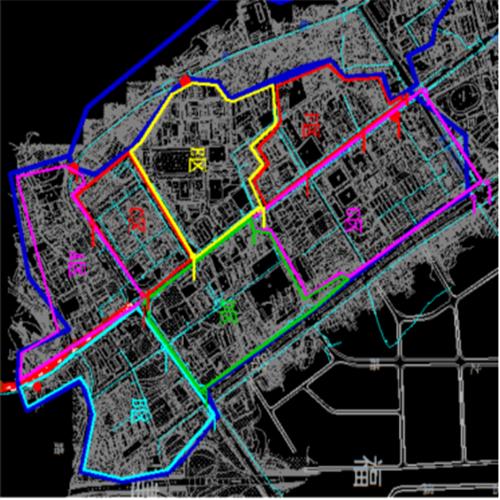 上海嘉定分區計量與漏損管控